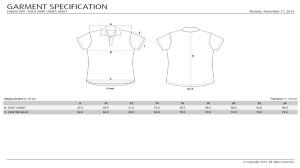 099 Measurement Chart